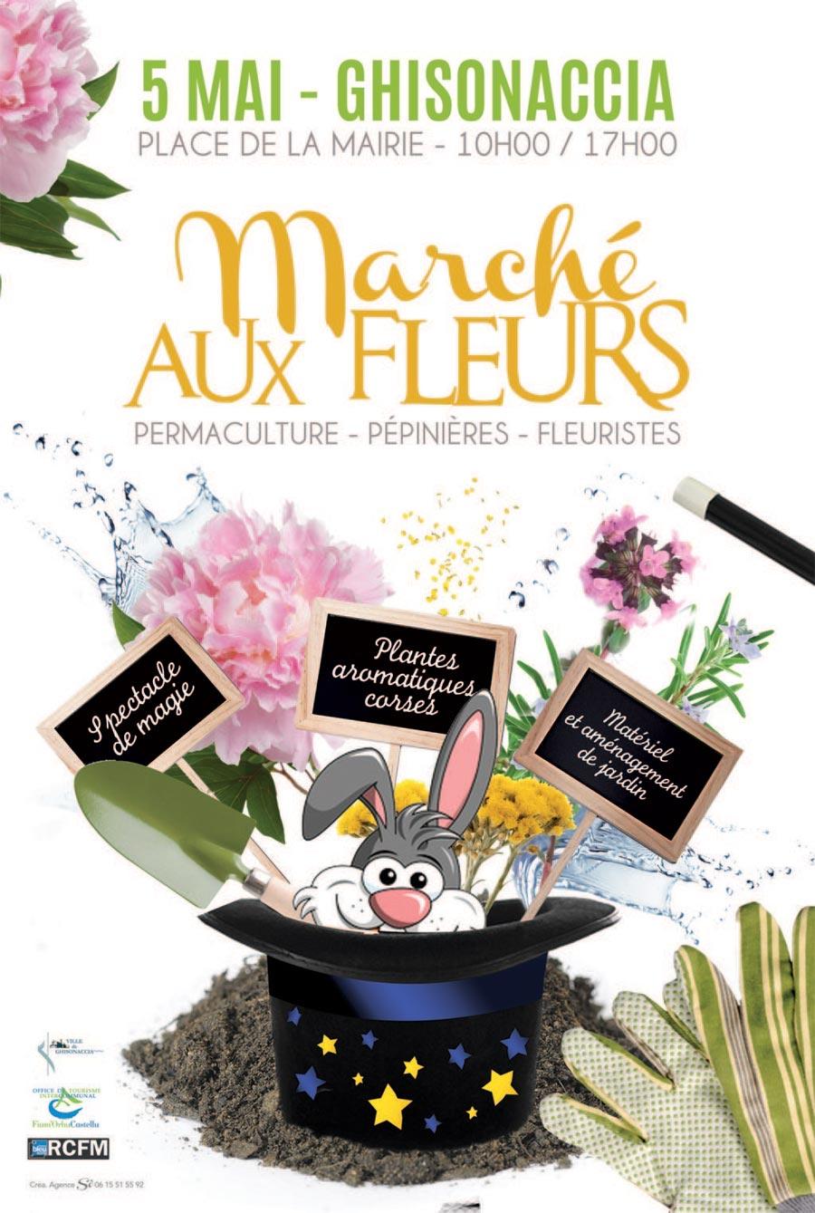 Marché aux Fleurs - Samedi 5 Mai - Casa Cumuna di ...