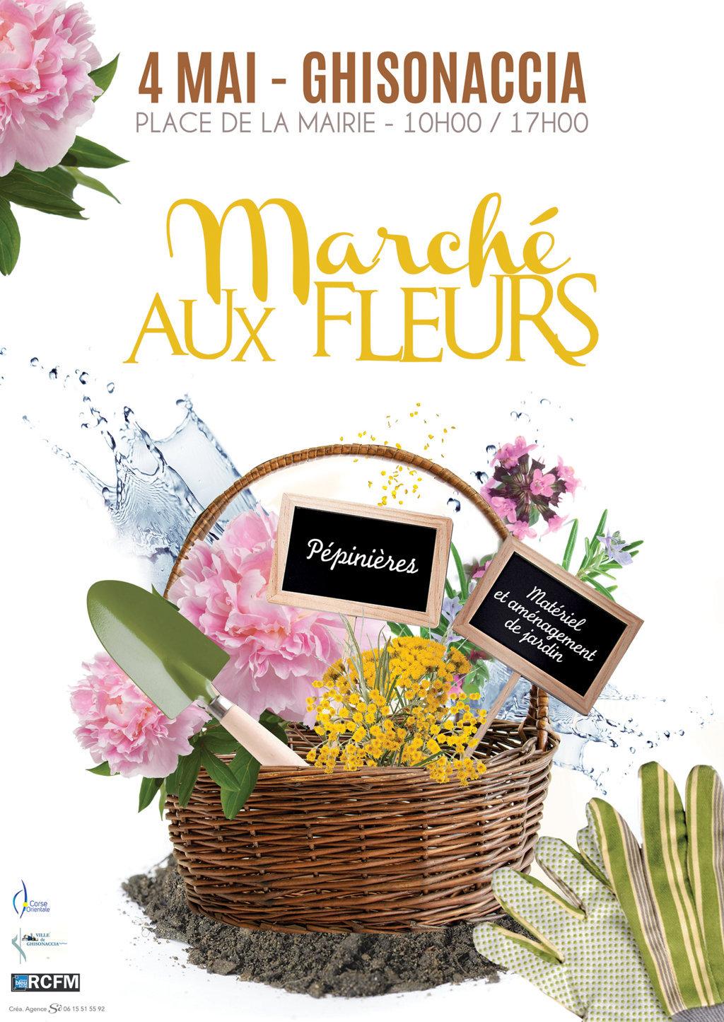Marché aux Fleurs le 4 mai 2019 - Casa Cumuna di Ghisonaccia ...